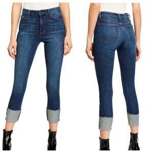 Joe's Jeny5955 Cuff Leg Skinny Crop Jean Size 32